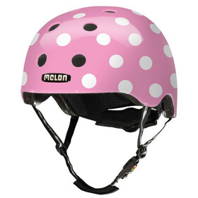 Melon Urban Active Story Casco da bicicletta, dotty pink